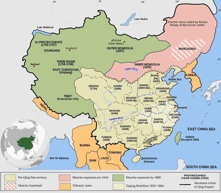 Qing_Empire_circa_1820_EN.svg