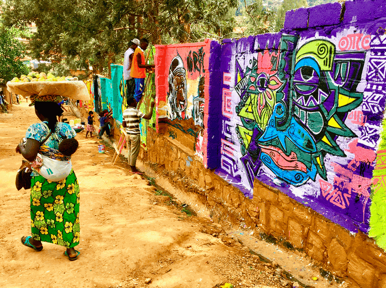 Kigali street scenes