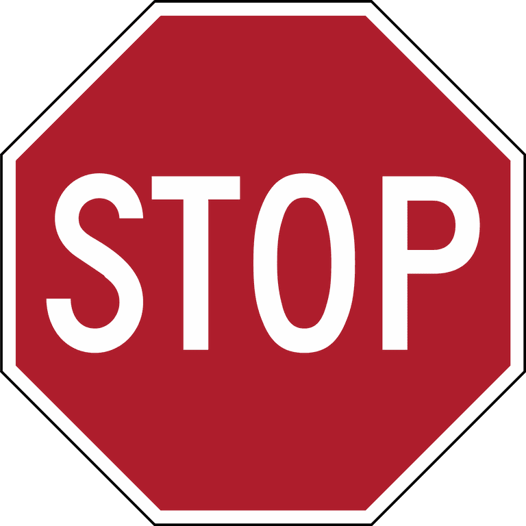 Stop sign © WikiCommons