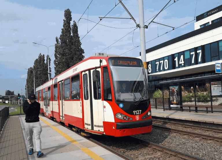 Tram in Gdansk