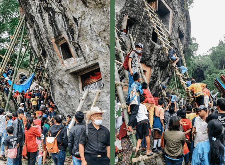 Scenes from the Ma'nene ritual | Putu Bagus Susastra / © Culture Trip