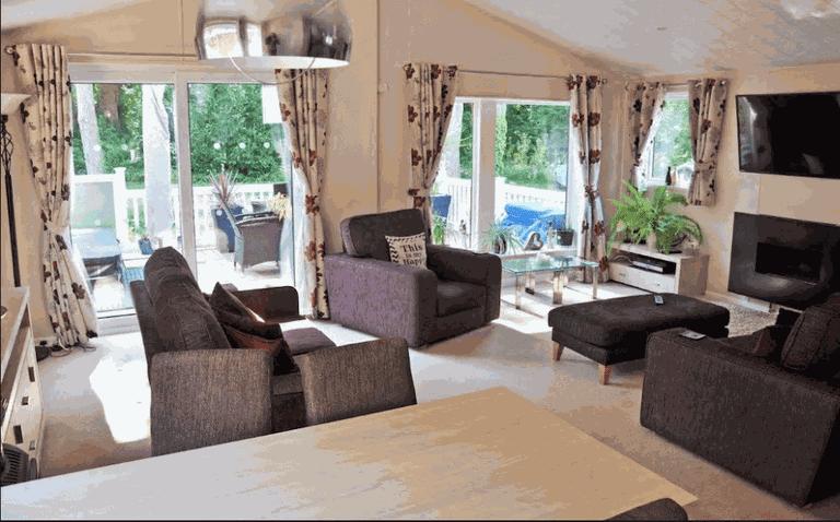 2. Wimborne Holiday Lodge Courtesy of AirBnb