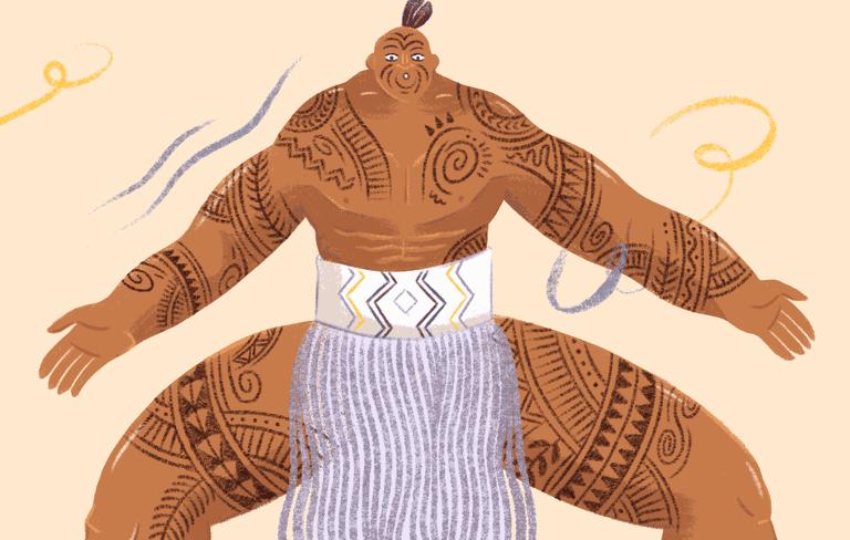 KatePeebles-Maori Tattoos - 1
