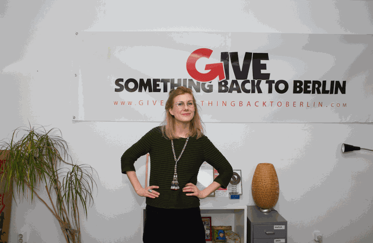 Annamaria Olsson – Founder and CEO of Give Something Back to Berlin