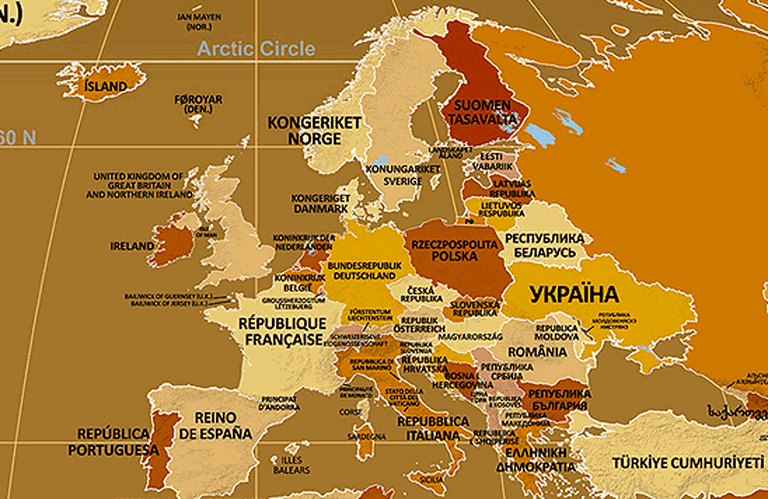 """Endonyms of Europe 