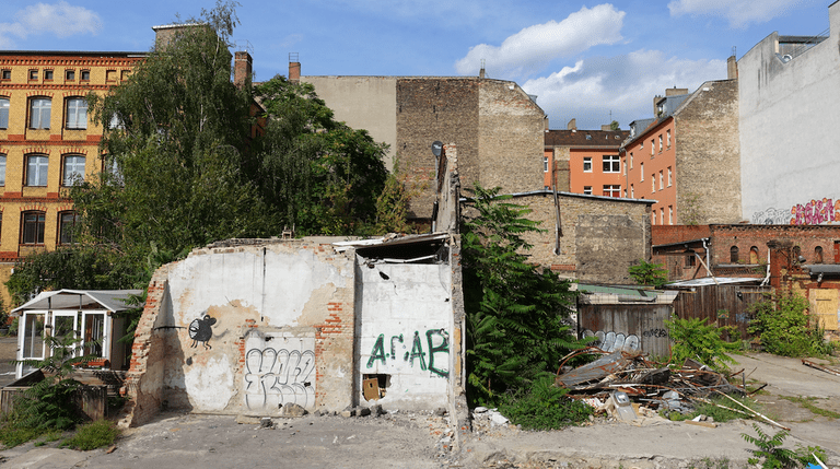 Brache in Friedrichshain, Berlin 2016