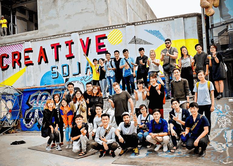 Tape Art Around The World in Hanoi