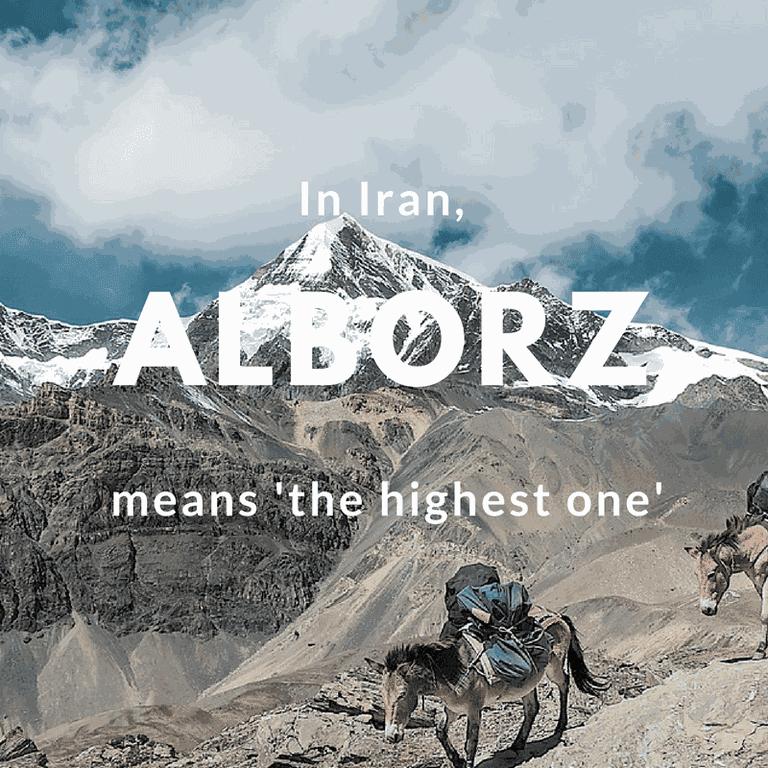 Alborz-the highest one | © 8moments / Pixabay