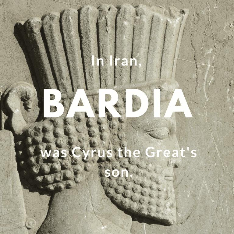 Bardia- Cyrus the Great's son | © mjnaderi / Pixabay