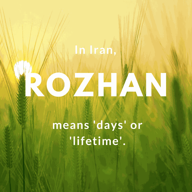 Rozhan- days or lifetime | © kangbch / Pixabay