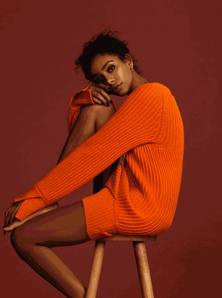 Antonia Zander knit jumper