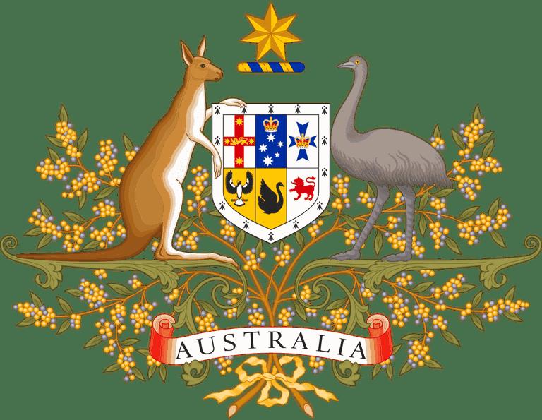 Australian Coat of Arms © Sodacan / Wikimedia Commons