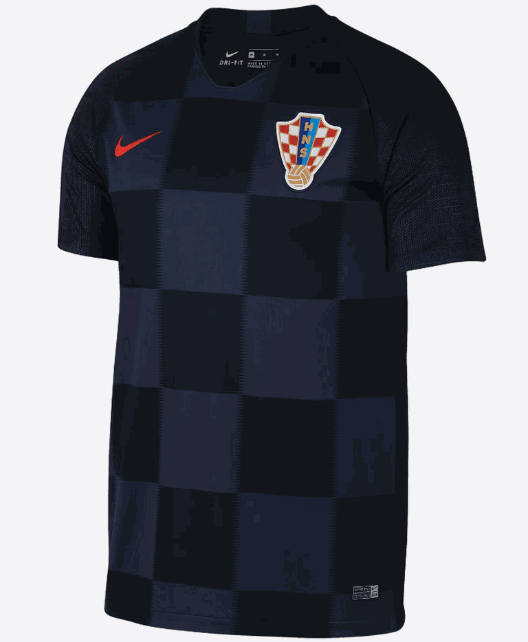 Croatia 2018 away shirt