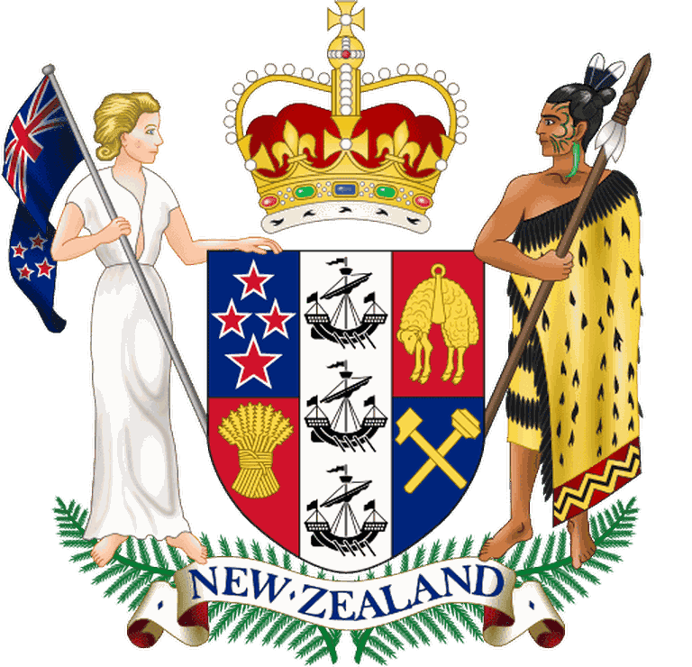 Current NZ Coat of Arms