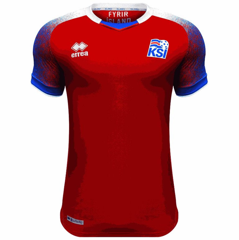 Iceland 2018 goalkeeper shirt