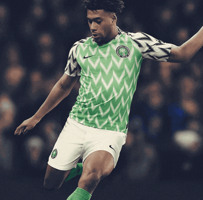 Nigeria 2018 home kit