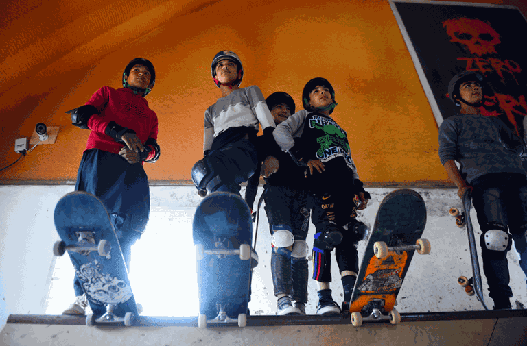 Skateistan creates safe spaces for young people from low-income backgrounds