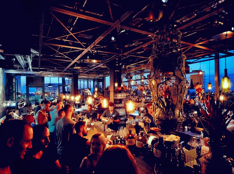 Monkey Bar is located in 25 hours Bikini Berlin Hotel