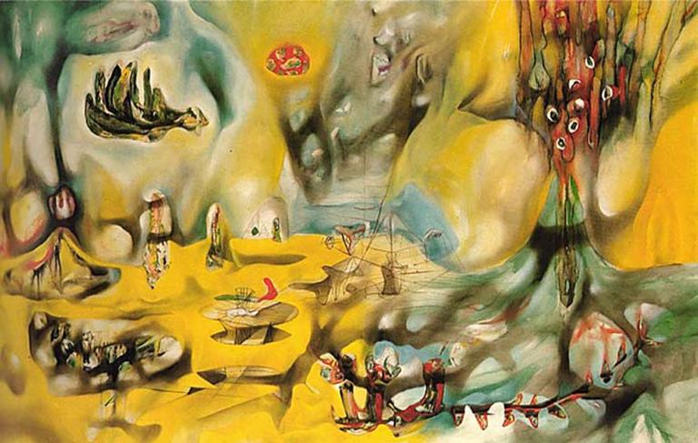 Invasion of the Night - Roberto Matta