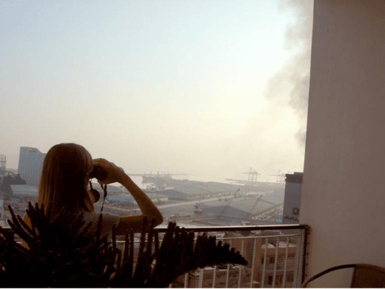 Israeli shelling of Beirut Port, July 2006