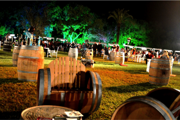 Wine barrel furniture, courtesy of Yael Tamar