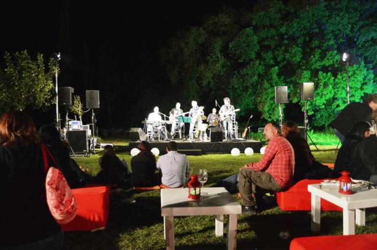 Lay Z Gordon Starting Five live concert at Ramat HaNadiv WineFest, courtesy of Yael Tamar
