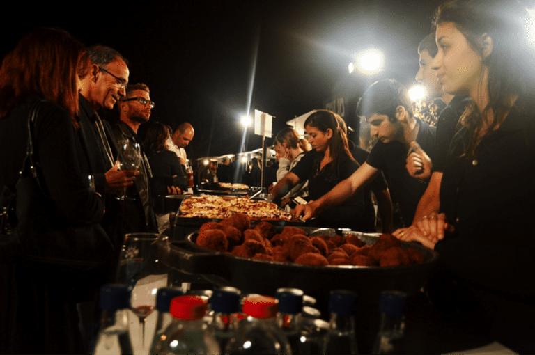 Street food at Ramat HaNadiv Festival, courtesy of Yael Tamar