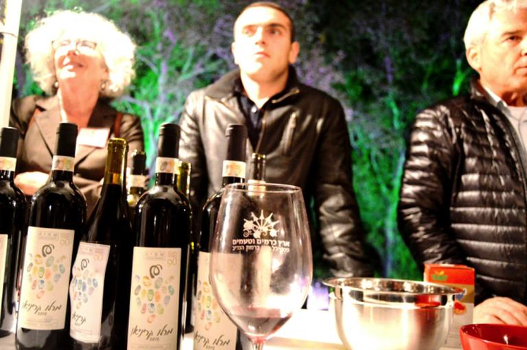 Wine by the Shefiya Boarding School, courtesy of Yael Tamar