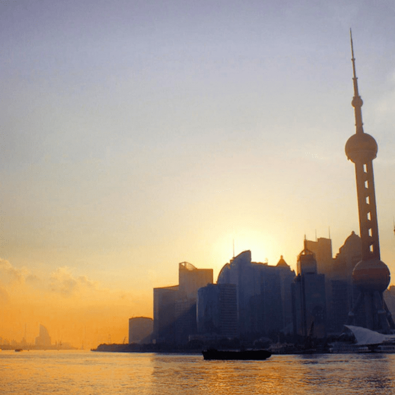 Morning over Pudong