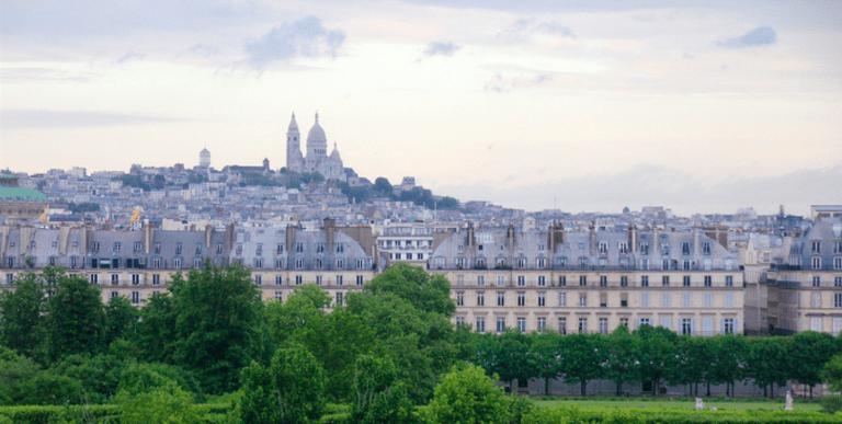 View of Sacré Coeur and Rivoli, Paris | ©Renaud Camus/Flickr