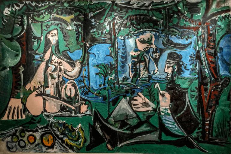 Déjeuner sur l'Herbe, d'Après Manet, Musée Picasso | © Yann Caradec/Flickr
