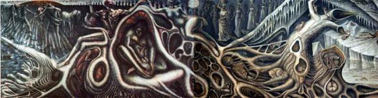 Web Of Life, John Thomas Biggers, mural