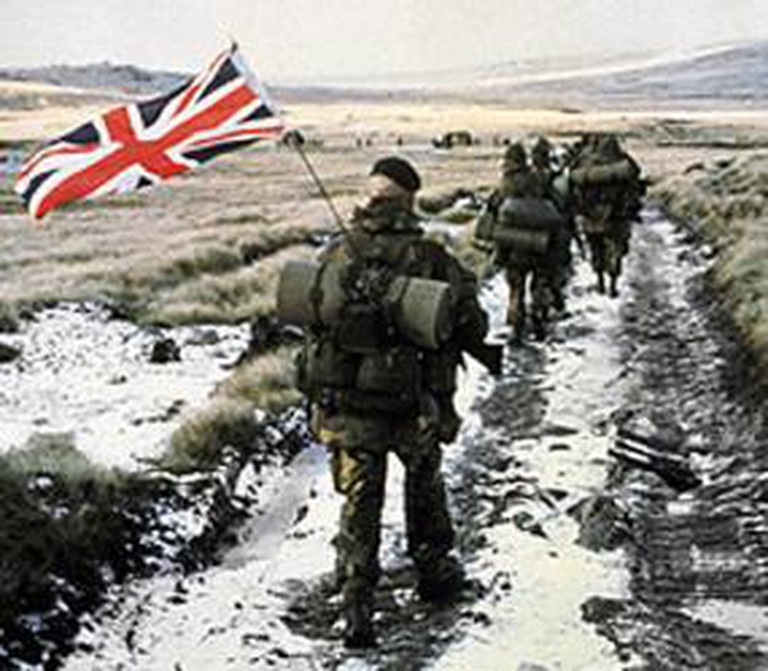 Royal Marines in the Falklands