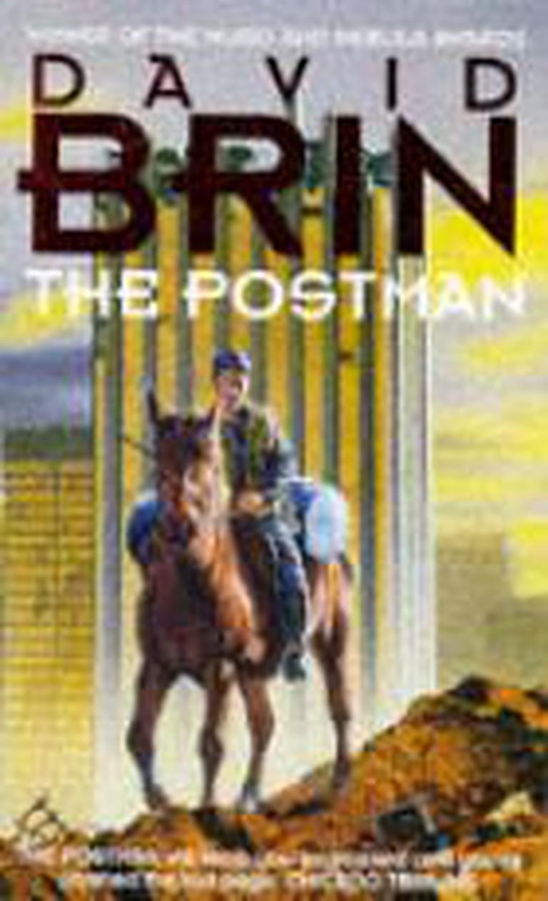 david brin the postman cover