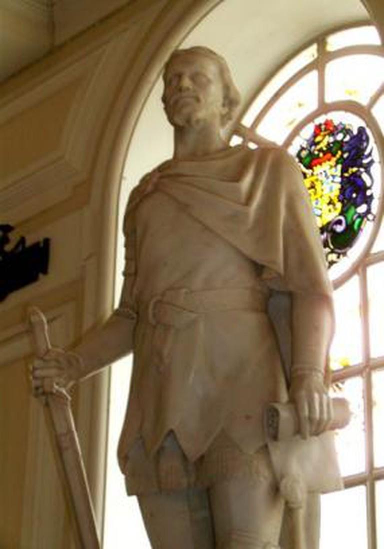 Owain Glyndŵr at Cardiff City Hall