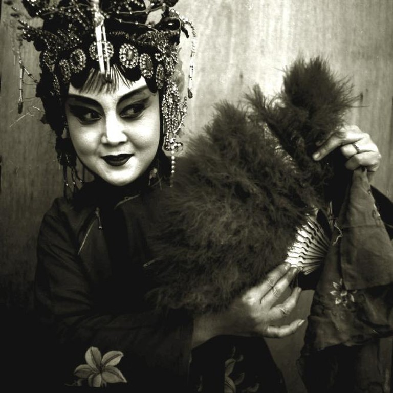 Liu Zheng, Peking Opera Actress Holding Fan, Beijing