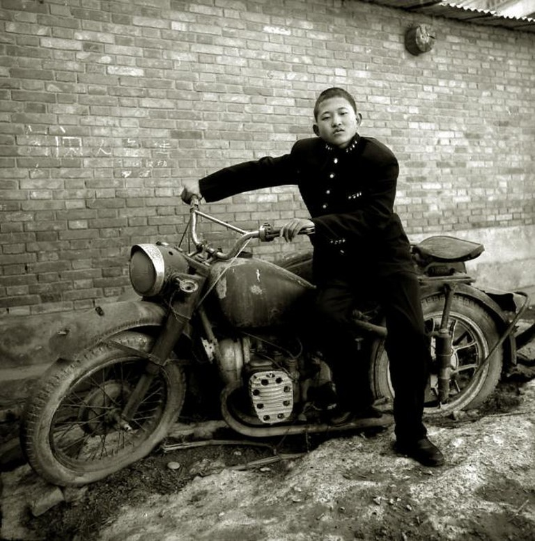 A Rural Boy In School Uniform, Fengxiang, Shaanxi Province, 2000