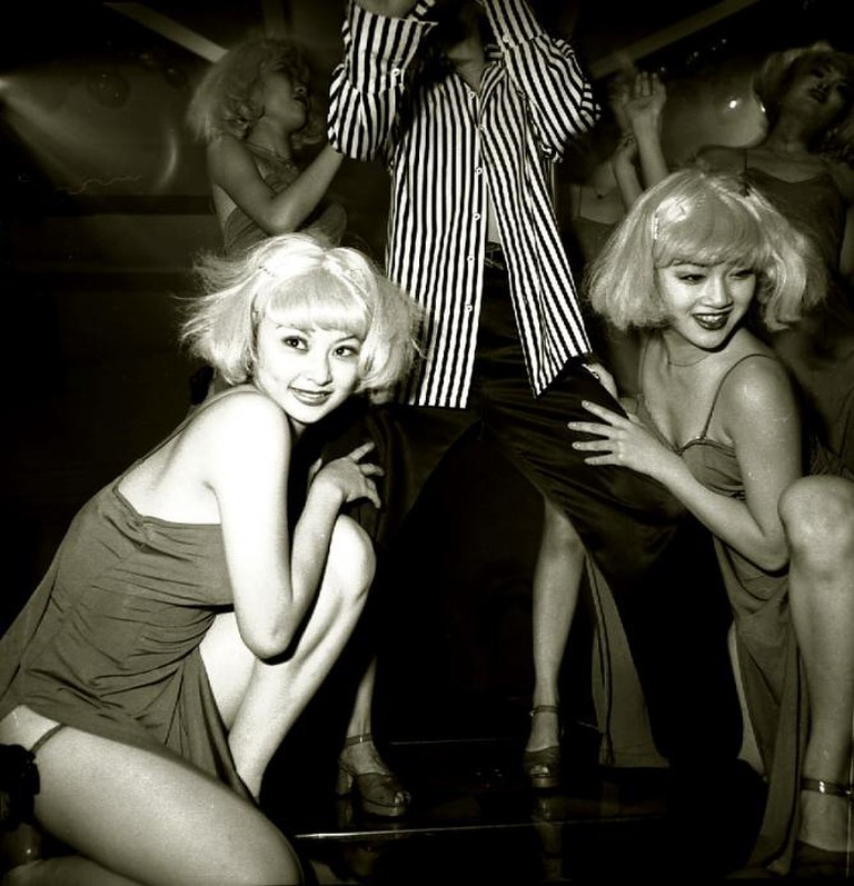 Dancers in a Nightclub, Beijing, 1999