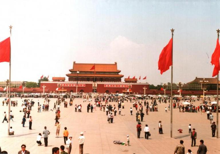 Derzsi Elekes Andor, Tiananmen Square, 1988.