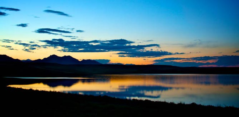 Sunset in Arvada, Colorado