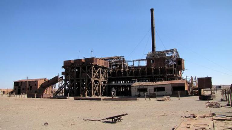 The Humberstone and Santa Laura works. Claudiorodriguez/Wikimedia Commons