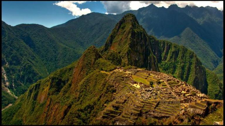Machu Picchu, Peru. Guillén Pérez/Flickr