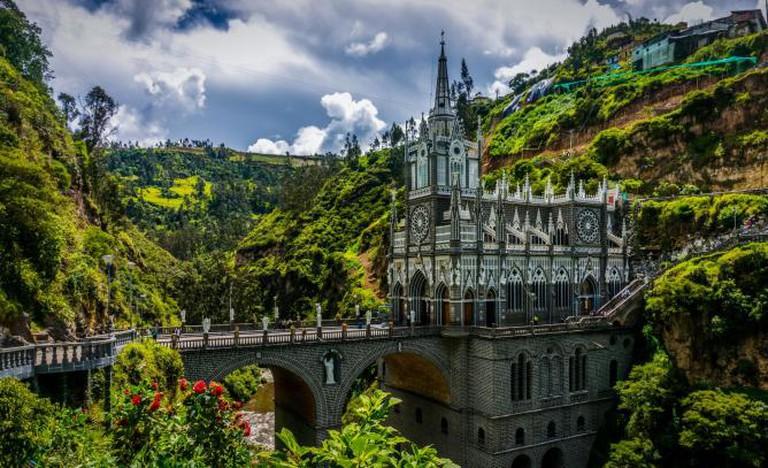 Santuario de Las Lajas. BORIS G/Flickr