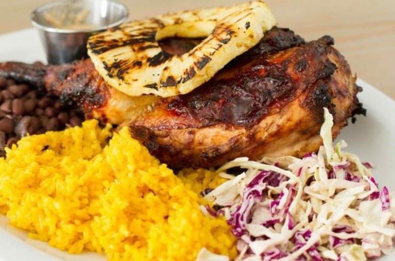 Jamaican Jerk Chicken, Sunny Spot © Eric Shin.