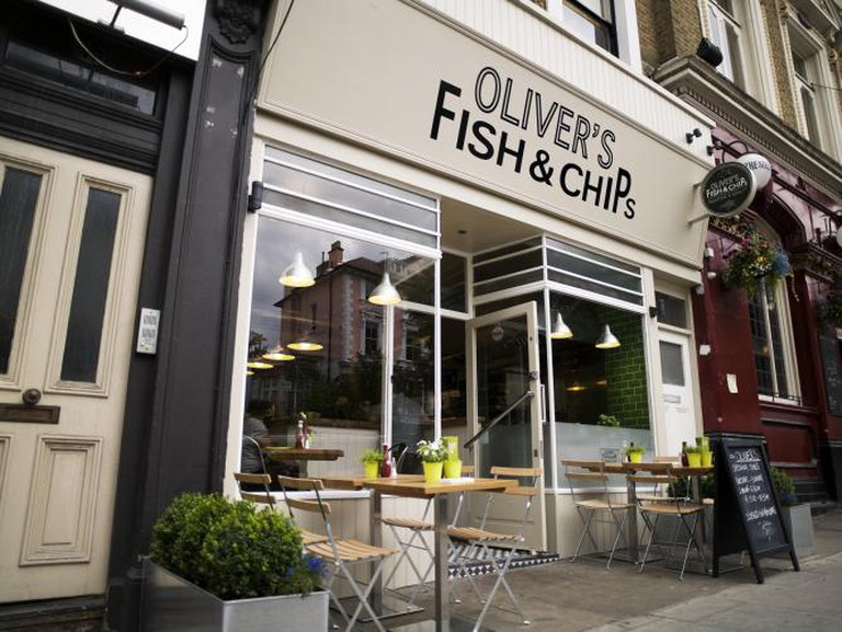 oliver's fish and chips london