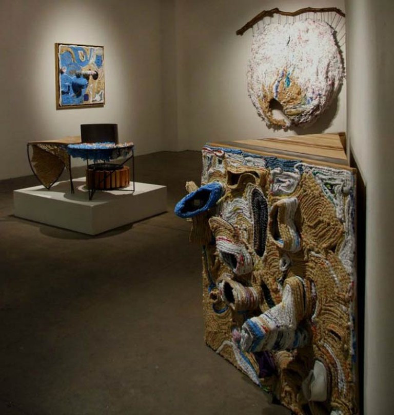 Ifeoma Anyaeji: Transmogrification, September 26th - November 2nd, 2013, Installation view | Courtesy of the artist and Skoto Gallery