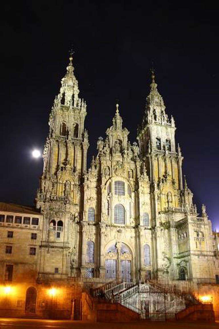 Catedral Santiago de Compostela | Wikimedia commons
