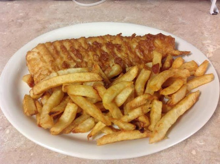 Fish & chips | Courtesy of Little taste Britain