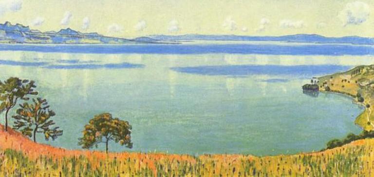 Lake Geneva from Chexbres