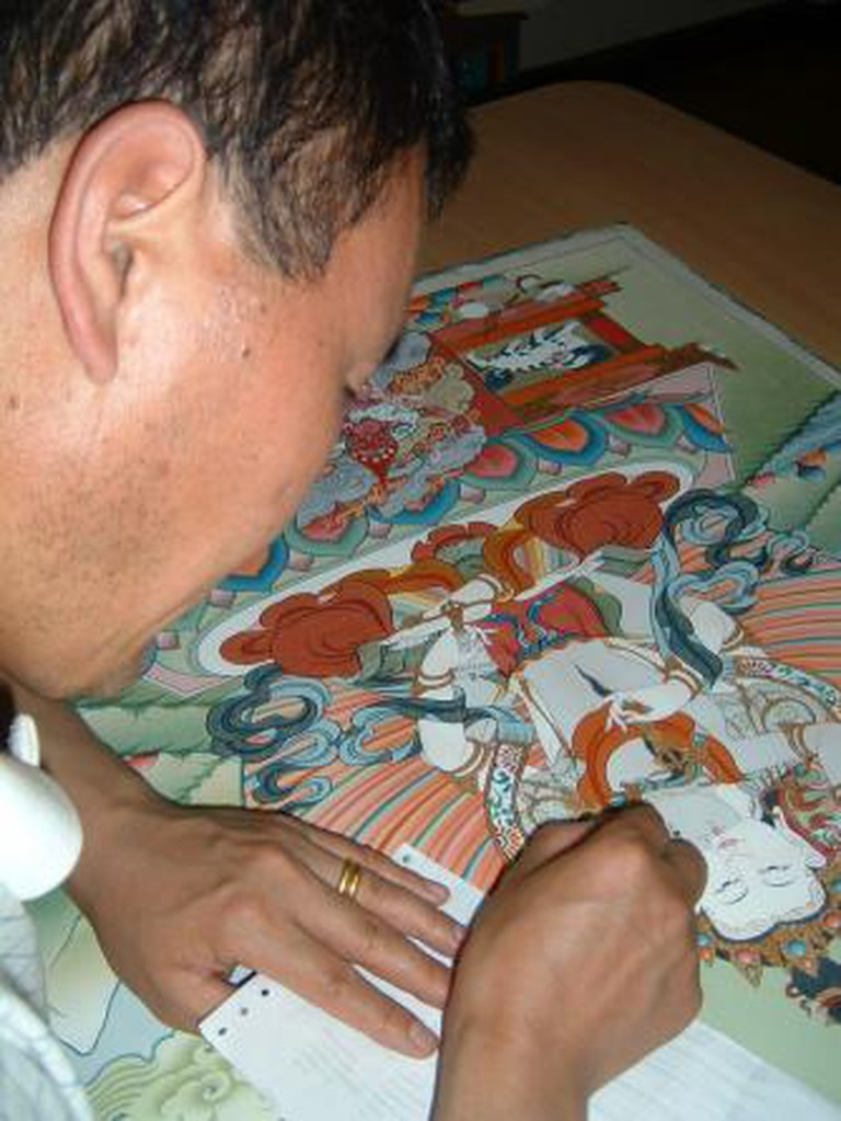 Bhutanese Thangka Painter Phurba Namgay